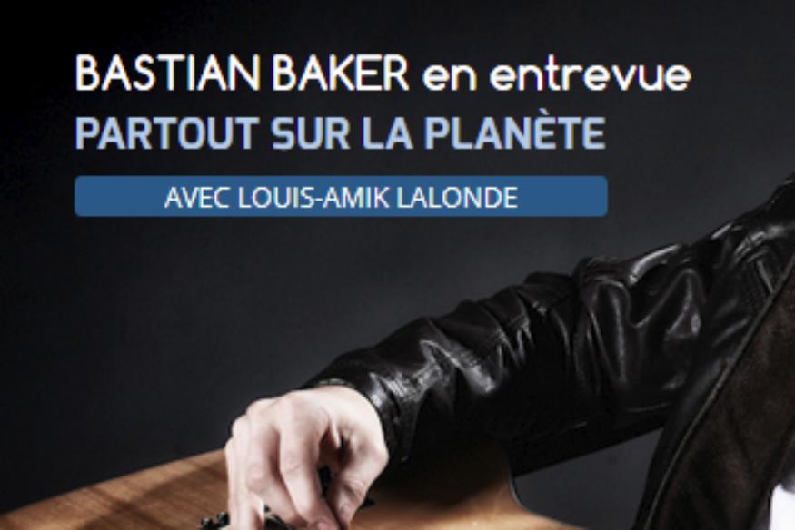 """Bastian Baker en entrevue dans """"Partout sur la Planète"""""""