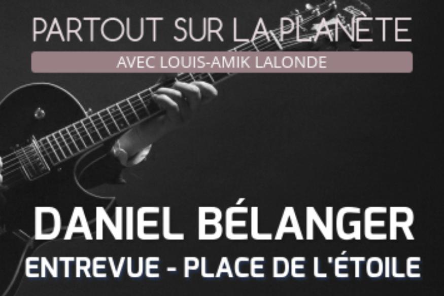 Daniel Bélanger en entrevue avec Louis-Amik
