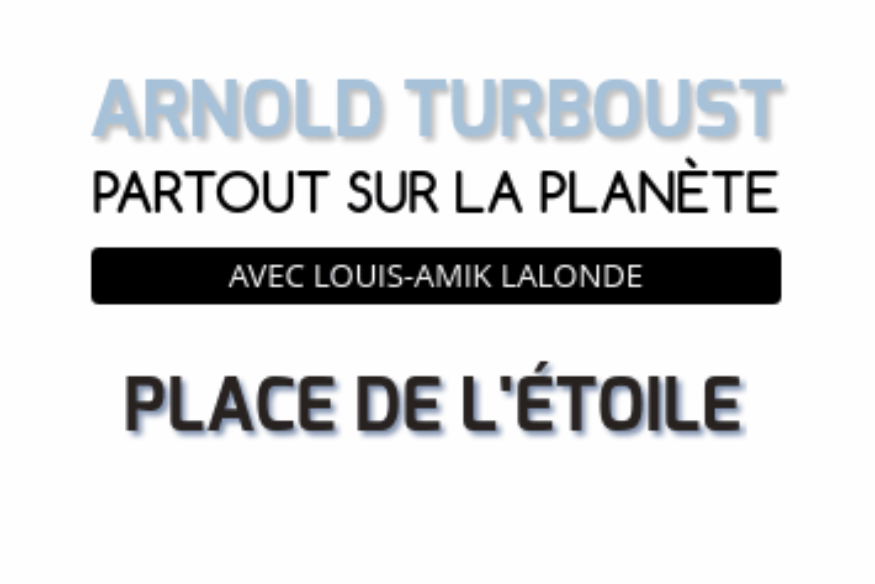 Arnold Turboust en entrevue sur Fréquence-Plaisir