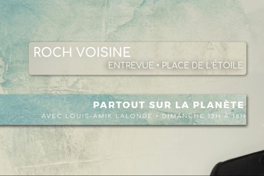 """Roch Voisine en entrevue avec Louis-Amik dans """"Partout sur la Planète"""""""